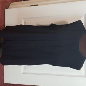 Sleeveless Navy blouse
